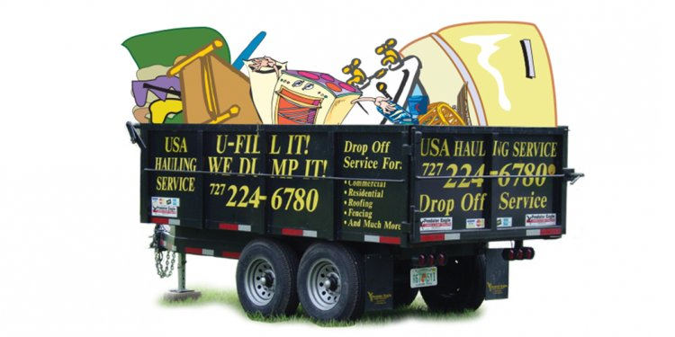Dumpster Rental in Tampa FL | USA Hauling Service