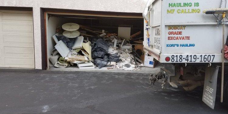Garage Cleanouts! Construction debris. 14 dump-truck on site! - Yelp