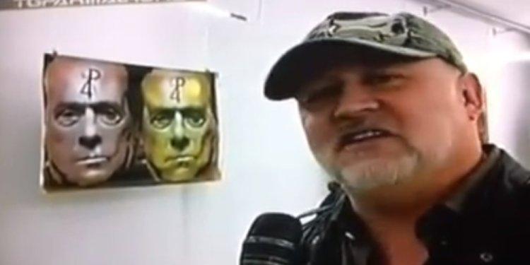 HANGING SILVIO in the local TV News | F CK Flavio Campagna Kampah