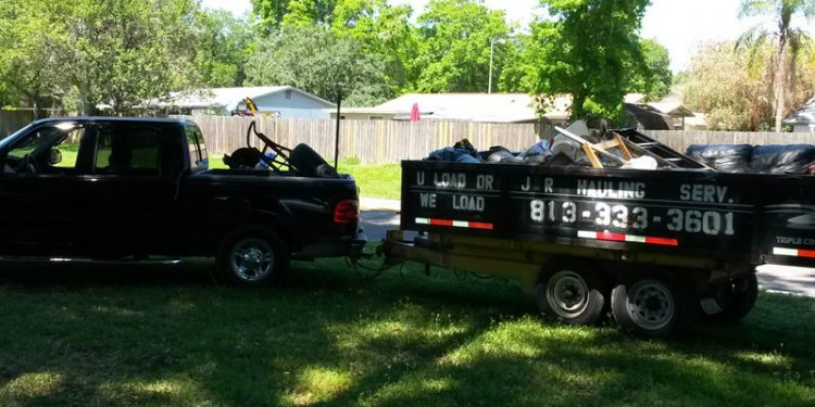 JR Hauling offers well-recognized debris service in Valrico