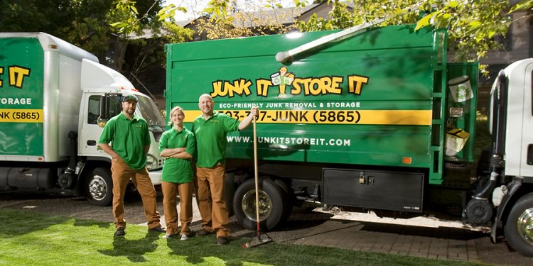 Junk Removal Franchise - Junk It Store It
