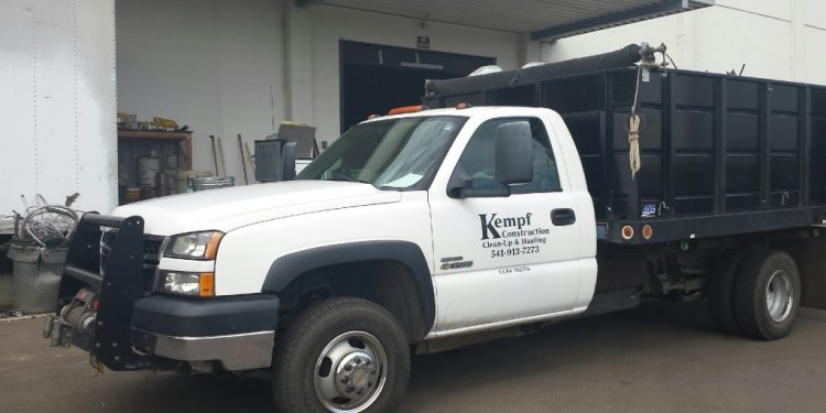 Kempf Construction Clean Up | Junk Hauling in Eugene Oregon