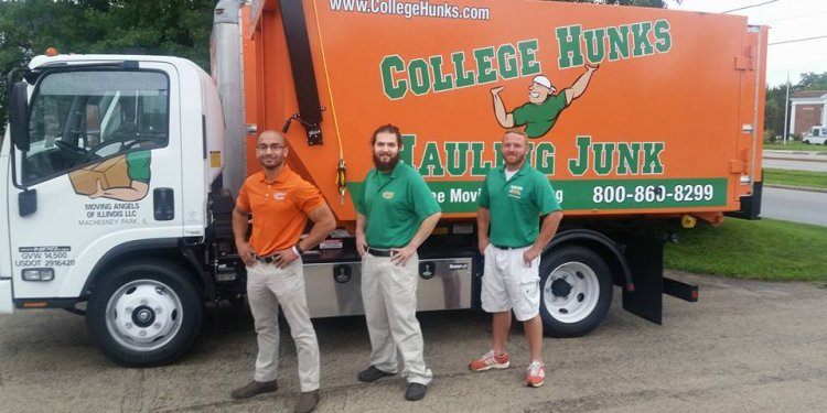 Rockford Junk Removal & Movers | College Hunks Hauling Junk & Moving