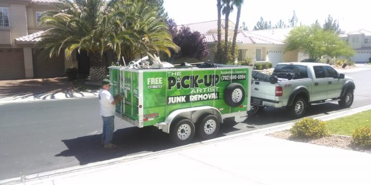 The Pick-Up Artist Junk Removal - Las Vegas NV 89129 | 702-600-6994