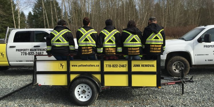 Yellow Trailers - Langley Fraser Valley | Junk Rubbish Removal and