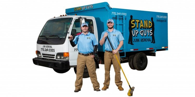 Stand up guys Junk Removal