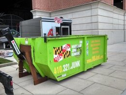 maryland junk removal dumpster