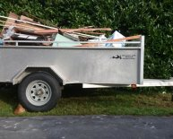 Junk Removal trailer